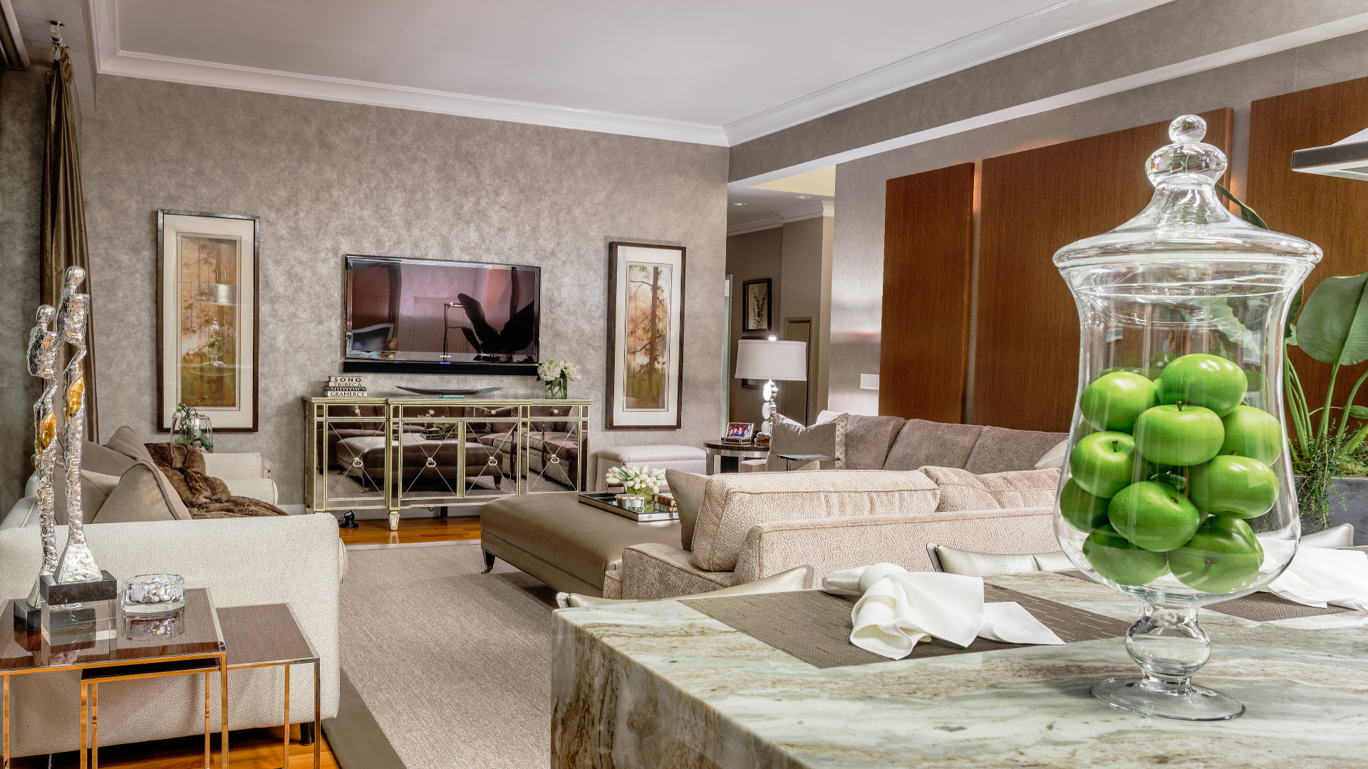 C&L Interiors--living room