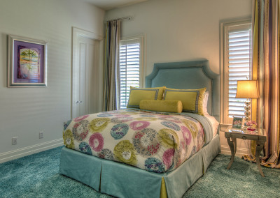 Custom Bedding & Window Treatment